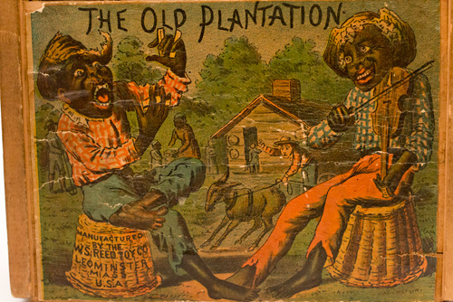 W.S. Reed Toy Company The Five Jolly Darkies Way down in Old Virginia The Old Plantation Black Americana