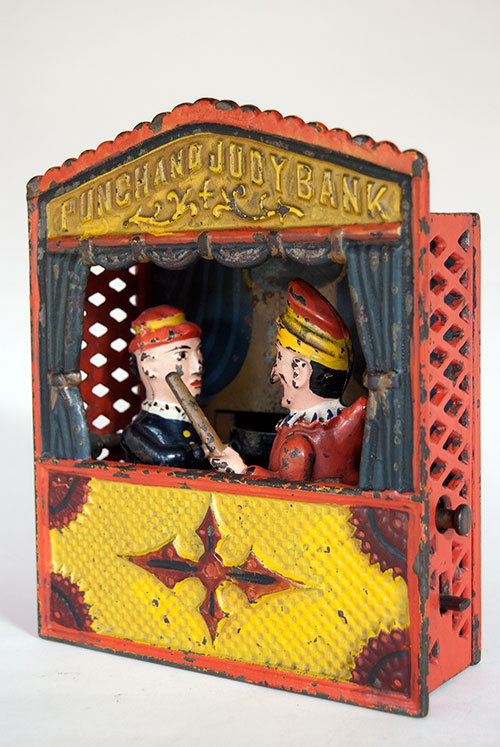 Punch and Judy Mechanical Bank