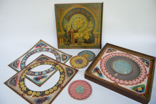 Antique Game 19th Century McLoughlin Brothers Chiromagica game for sale