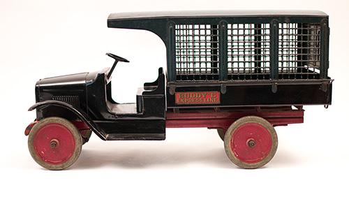Ups Van For Sale >> Buddy L Moline Illinois Antique 1920s Truck Screenside Expres Line Van For Sale