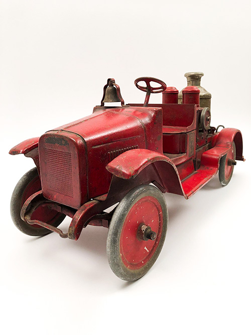 Antique Buddy L Original Paint Fire Engine Pumper Truck For Sale
