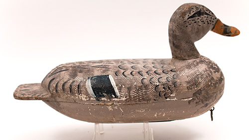 Antique Illinois River Bluebill Decoys Antique American Folk Art For Sale