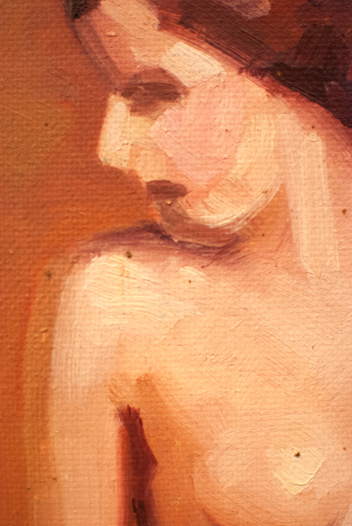 Paul T Sargent Female Nude Oil on Canvas Painting Art Institute of Chicago