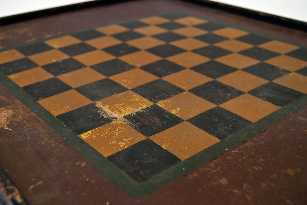 Vintage checker boards