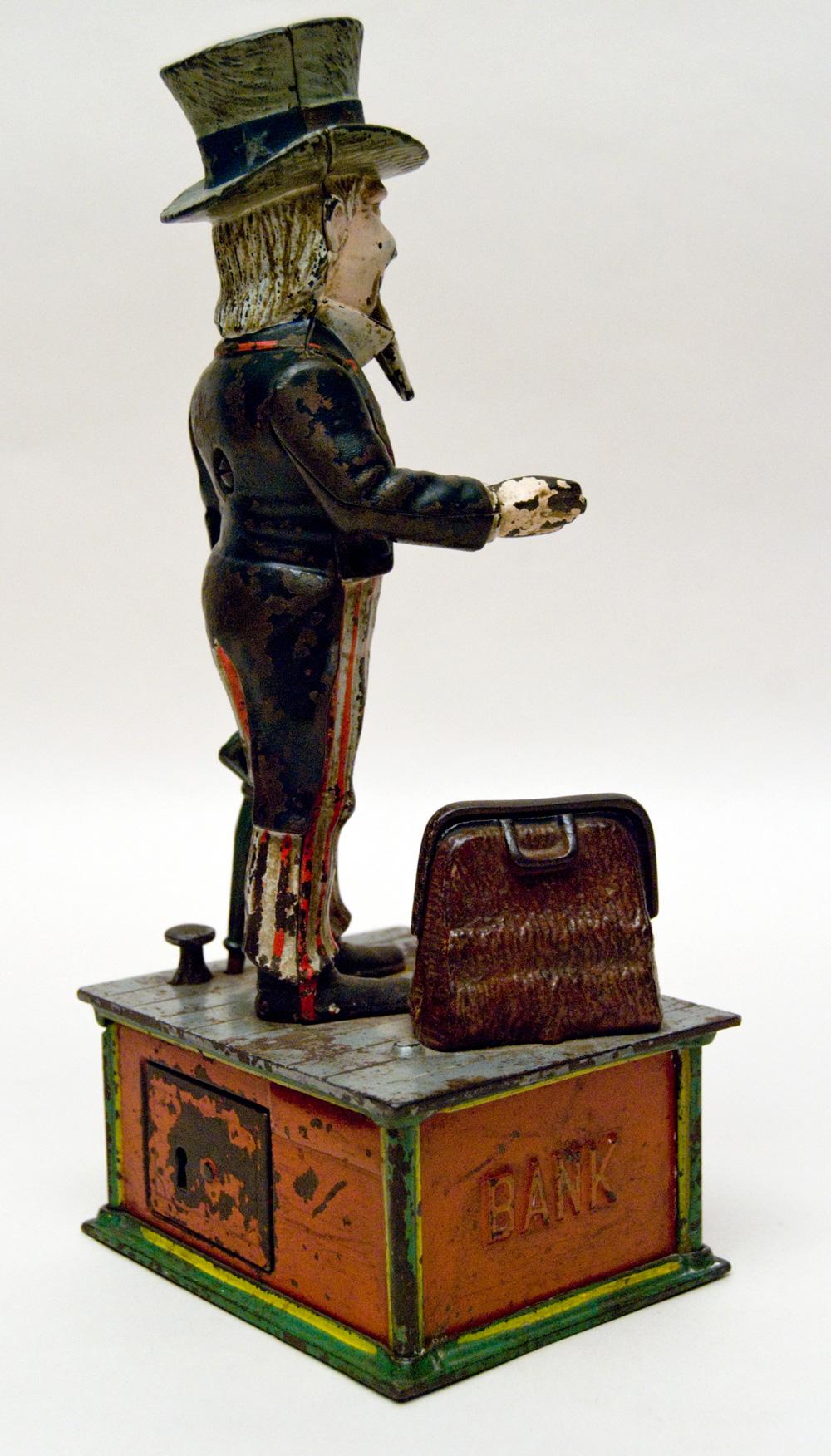 vintage mechanical banks