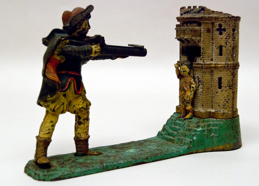 William Tell Antique Cast Iron
