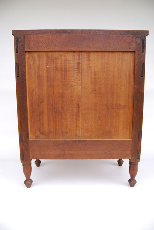 Early American Walnut Childs Chest of Drawers Antique American Furniture