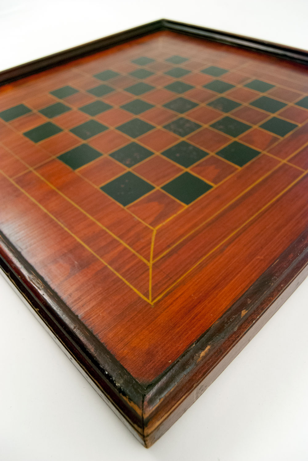 Co color painting games - 9 Color Double Sided Lancaster Co Pennsylvania Antique Gameboard