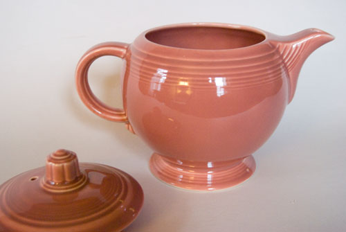 Fiesta Vintage 50s Color Rose Medium Size Teapot