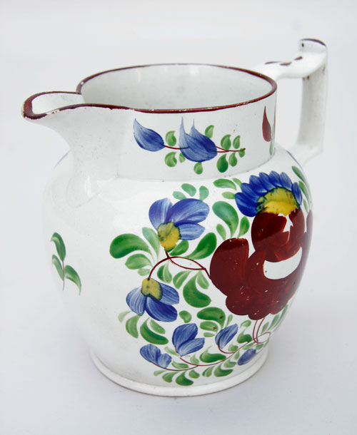King's Rose Staffordshire Soft Paste Pitcher