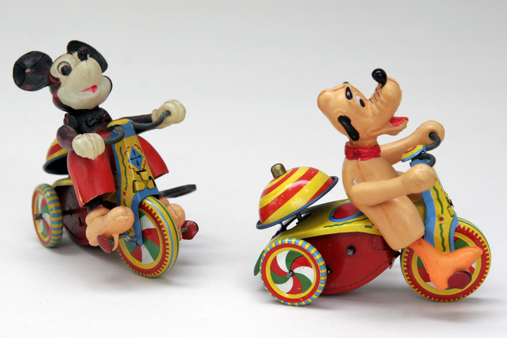 mickey mouse vintage toys