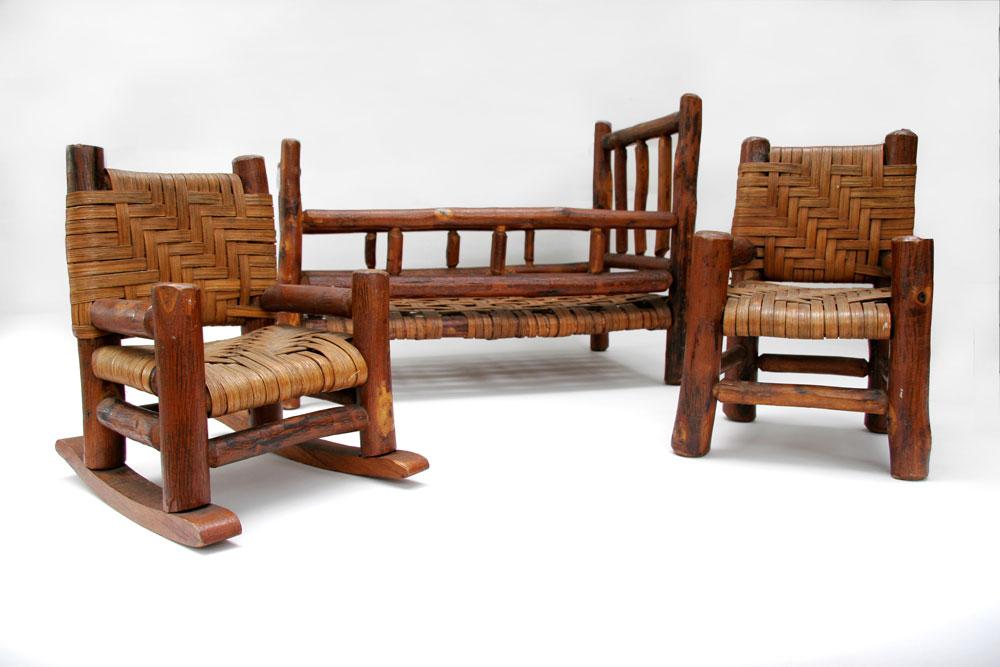 Old Hickory Furniture Salesman Samples Rare Martinsville Indiana 3
