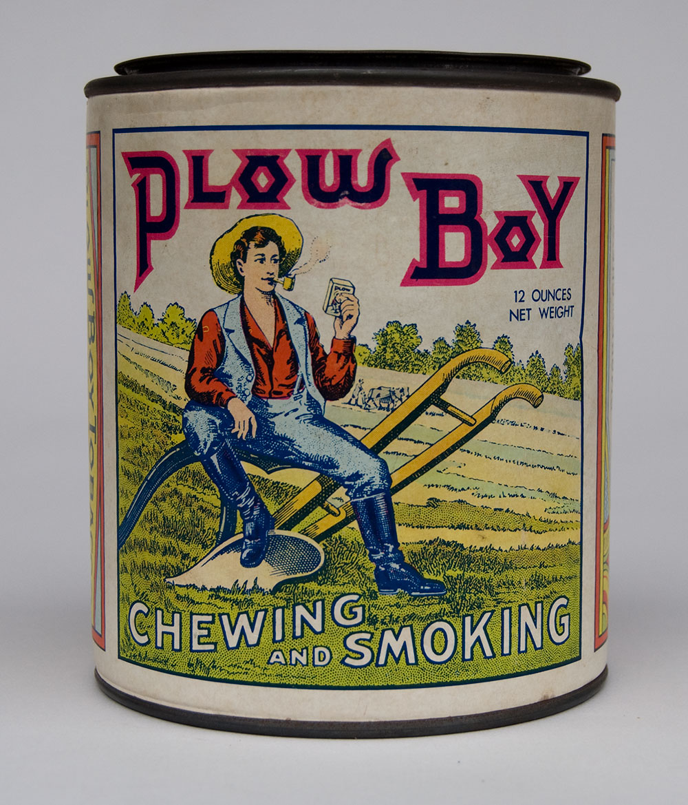 vintage chewing tobacco tins