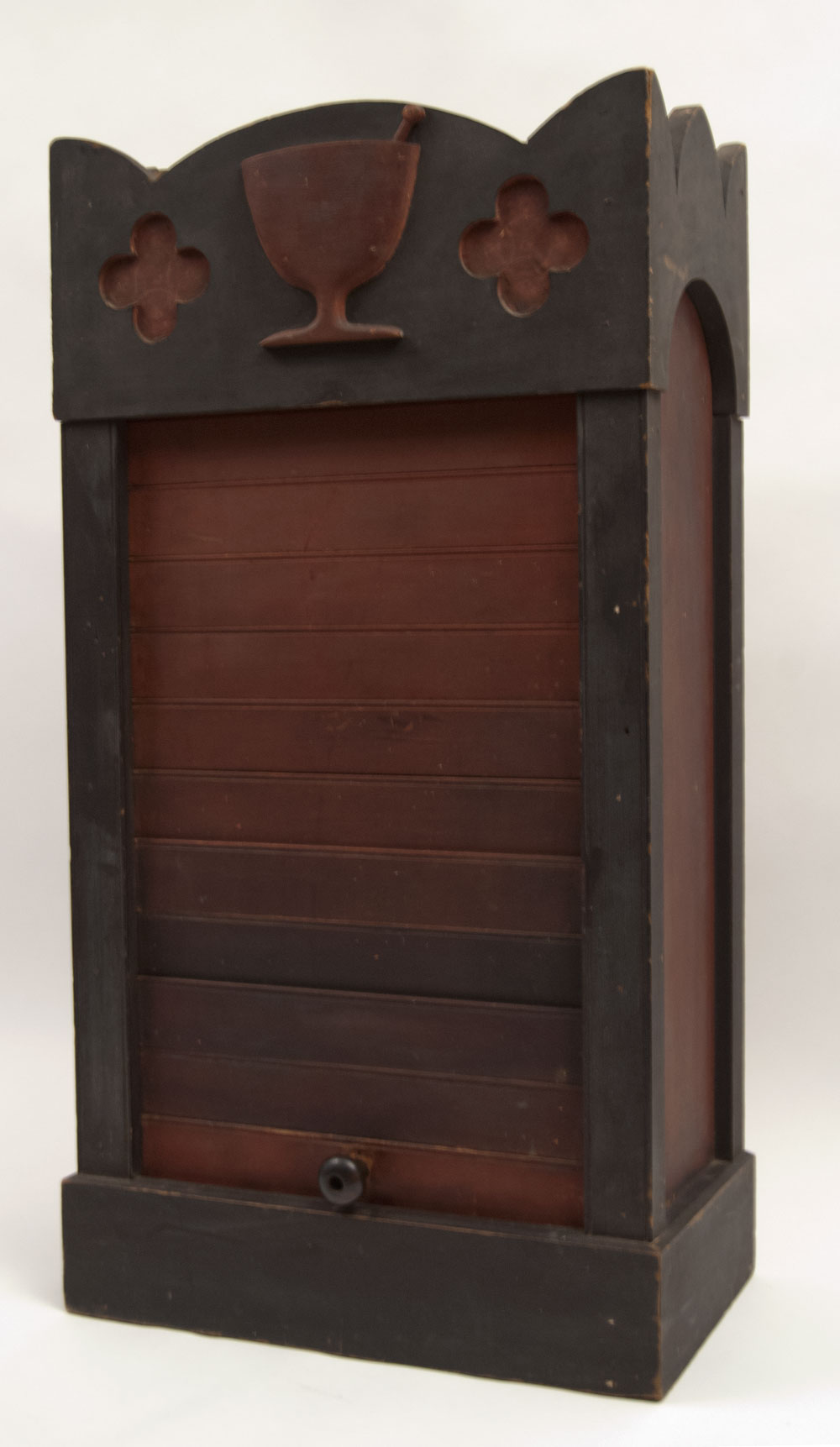 teak cupboard vintage gallery cabinet harp with jars shop drug apothecary