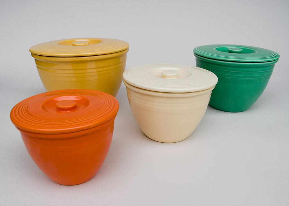 Fiesta Nesting Bowl Lids   Rare Vintage Fiestaware