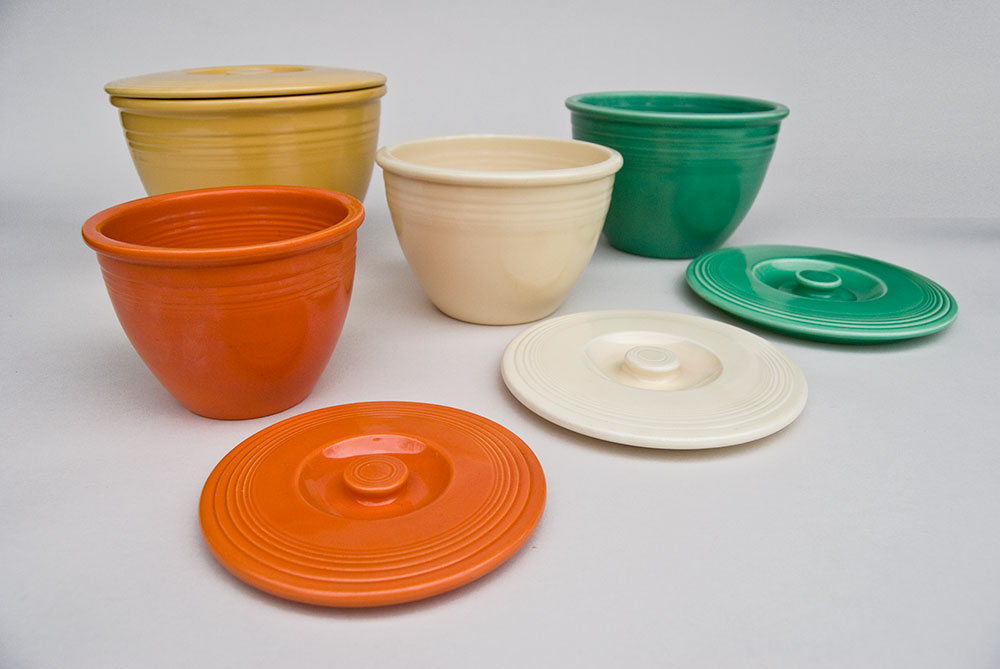 Fiesta Nesting Bowl Lids | Rare Vintage Fiestaware