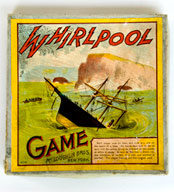 McLoughlin Bros. Whirlpool Game Antique American Game