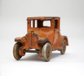 arcade cast iron vehicle in original paint