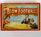 Antique Game The New Game of Blow Football English British Football Soccer Sports