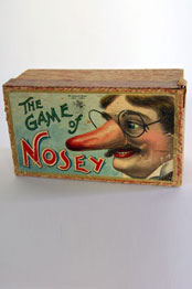 Rare Antique Game of Nosey