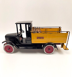 Antique Original 1920s Pressed Steel Buddy L Ice Delivery Truck For Sale Moline Illinois