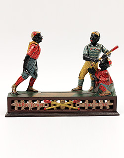 Dark Town Battery Mechanical Bank For Sale