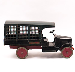Antique Buddy L Express Line Truck in Original Paint