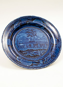 Early American Blue Decorated Stoneware Historical Staffordshire Yellow Slip Decorated Redware Antique Mochaware Pennsylvania Tanware and other Antique ...  sc 1 st  antiques & American Stoneware Redware Mochaware Historical Staffordshire and ...