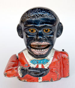 Antique Mechanical Bank: Jolly Nigger