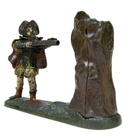 New Creedmoor Antique Mechanical Bank For Sale