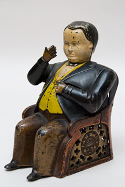 Tammany Antique Mechanical Bank For Sale