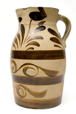New Geneva Tanware Pitcher for Sale Antique Pennsyvania Stoneware