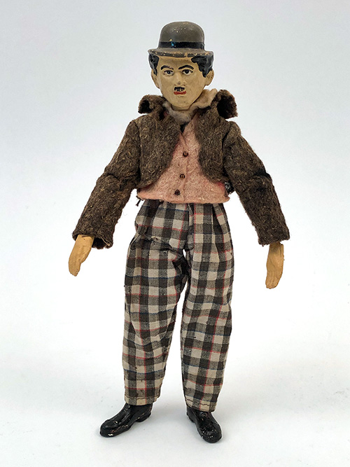 charlie chaplin swiss bucherer fully jointed metal figure antique toy