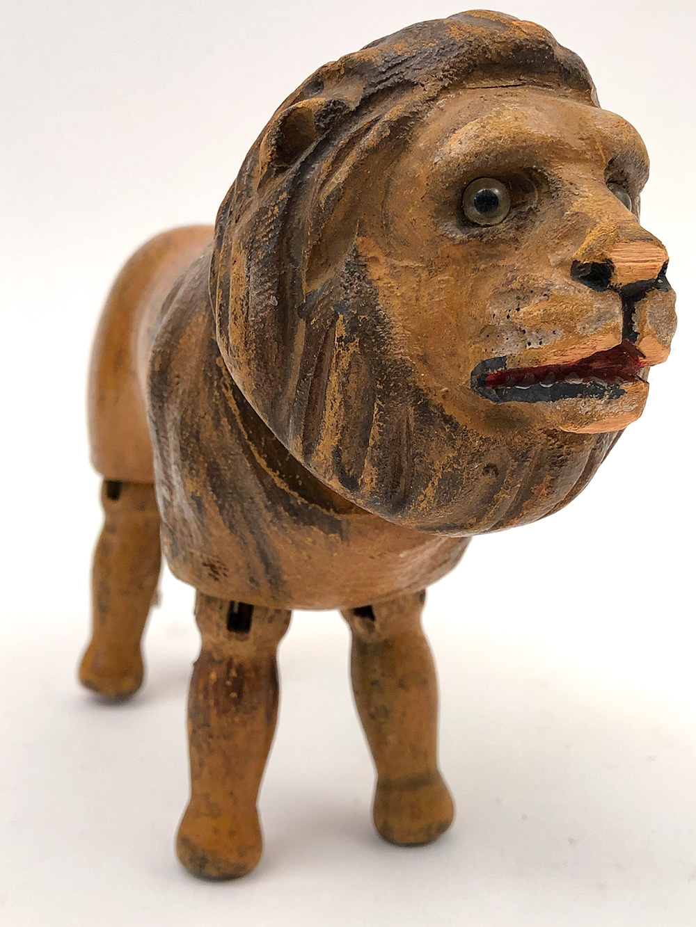 regular size schoenhut circus lion