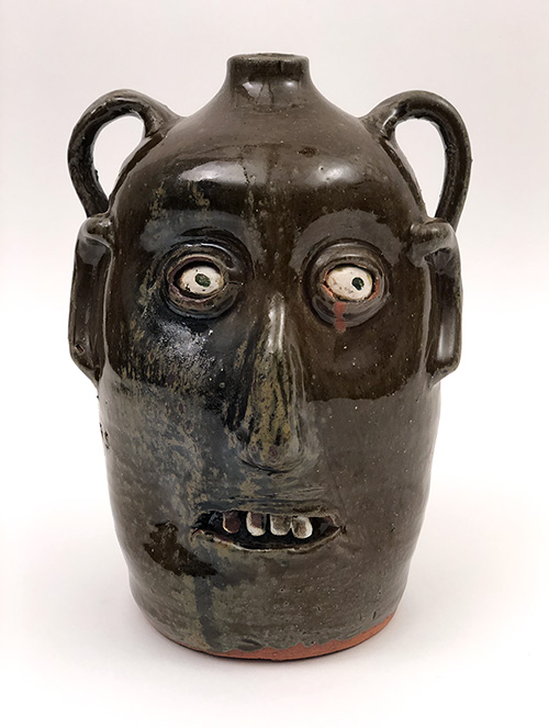 Reggie Meaders double face jug for sale