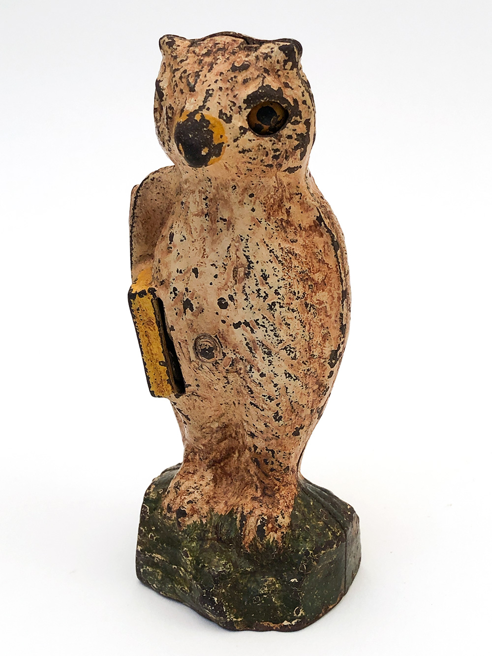slot in book owl mechanical bank for sale