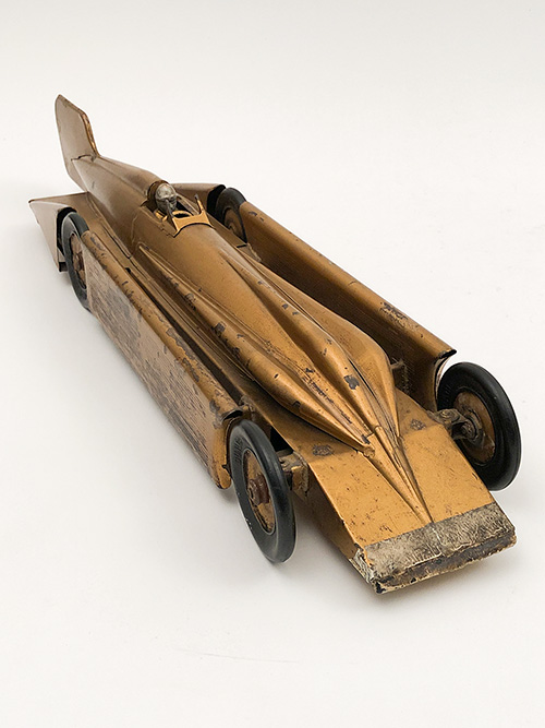 kingsbury golden arrow race car