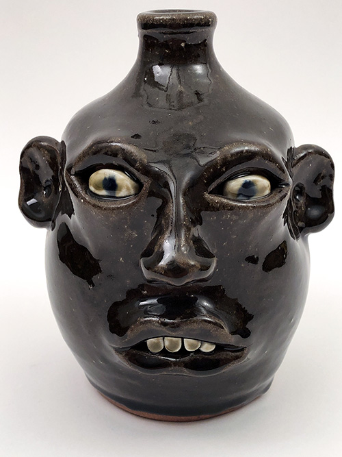 Anita Meaders face jug for sale