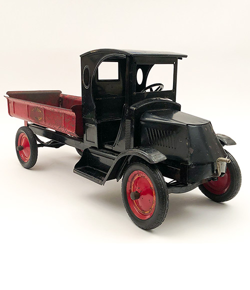 1920s antique american pressed steel large toy truck for sale