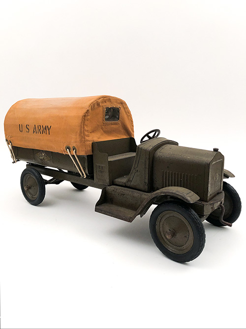 1920s Pressed Steel Vehicle American National Giant US Army Truck for Sale
