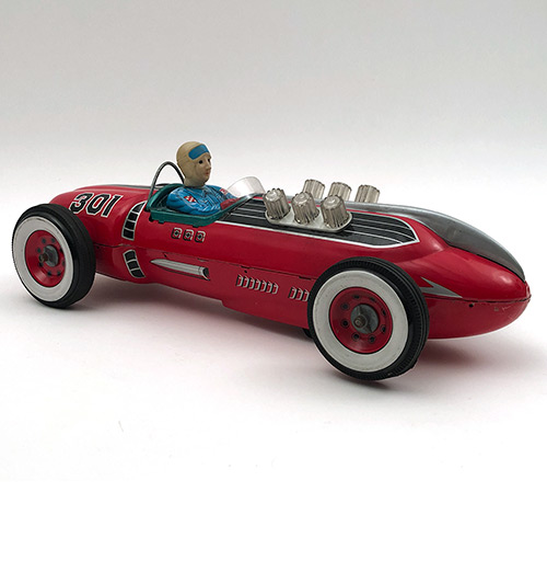 1950s masudaya modern toys 301 racer made in japan
