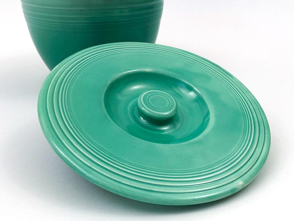 fiestaware green mixing bowl lid