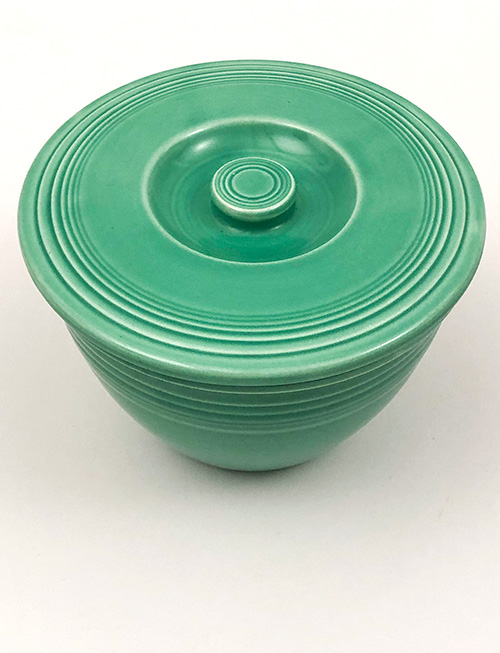 green fiestaware nesting bowl lid for sale number two size