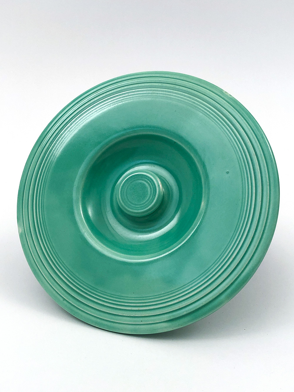 vintage fiesta green mixing bowl lid for sale