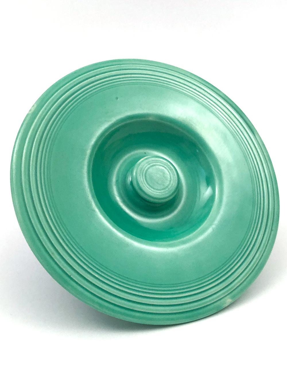 vintage fiesta green mixing bowl lid